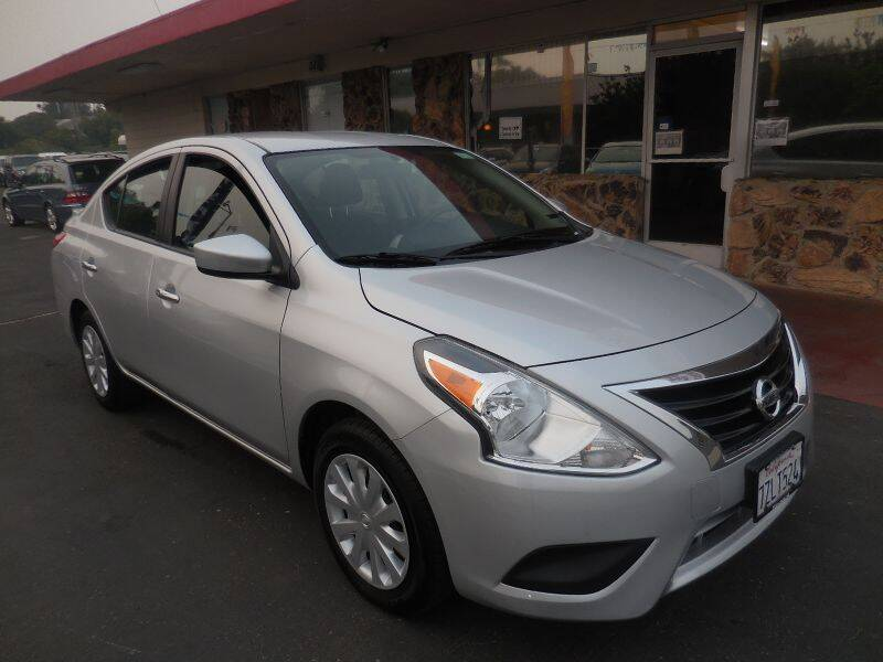 2017 Nissan Versa for sale at Auto 4 Less in Fremont CA