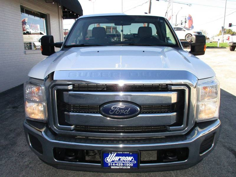 2012 Ford F-250 Super Duty 4x2 XLT 2dr Regular Cab 8 ft. LB Pickup - Saint Louis MO