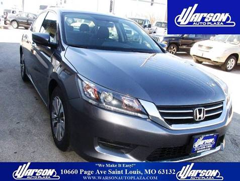 2013 Honda Accord for sale in Saint Louis, MO