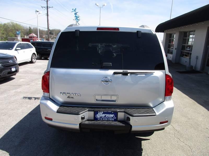 2011 Nissan Armada 4x2 SV 4dr SUV - Saint Louis MO