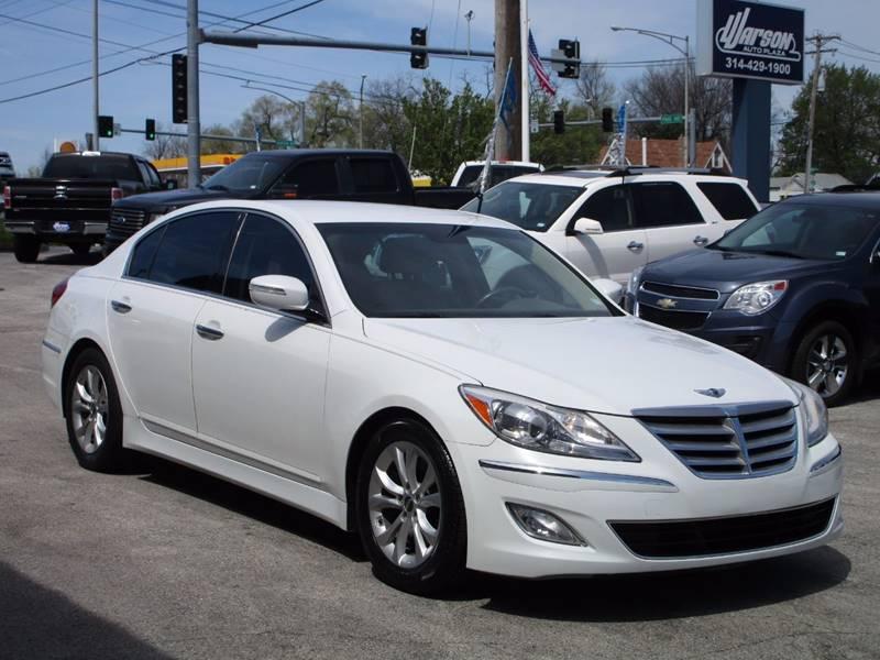2012 Hyundai Genesis 3.8L V6 4dr Sedan - Saint Louis MO