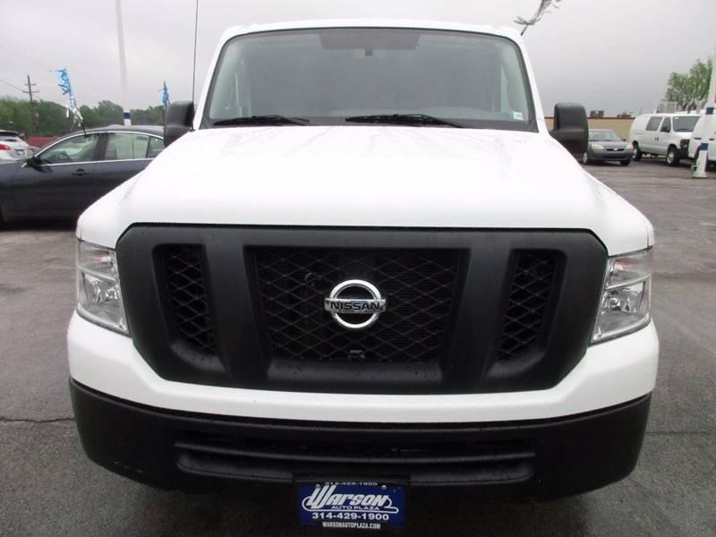 2015 Nissan NV Cargo 4X2 1500 S 3dr Cargo Van - Saint Louis MO