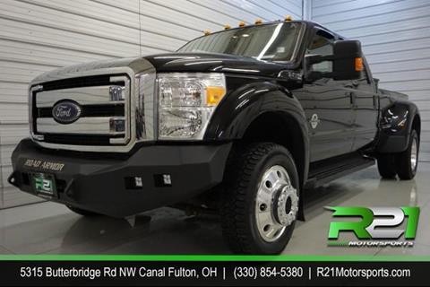 2016 Ford F-450 Super Duty for sale in Canal Fulton, OH