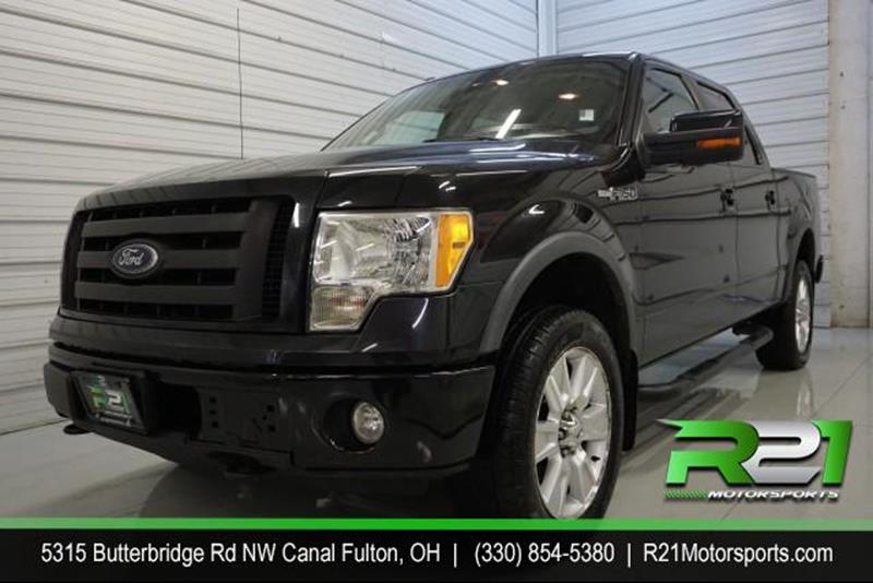 2010 Ford F-150 Lariat SuperCrew 5 5-ft  Bed 4WD In Canal