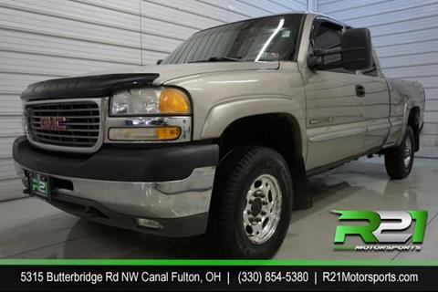 2002 GMC Sierra 2500HD for sale in Canal Fulton, OH