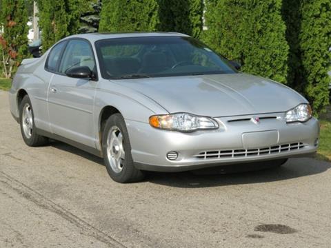 2002 Chevrolet Monte Carlo for sale in Twin Lake, MI