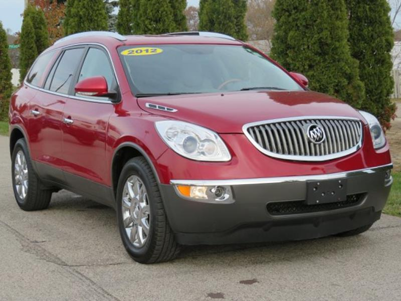 2012 Buick Enclave Leather In Twin Lake MI - Betten Baker Used Cars