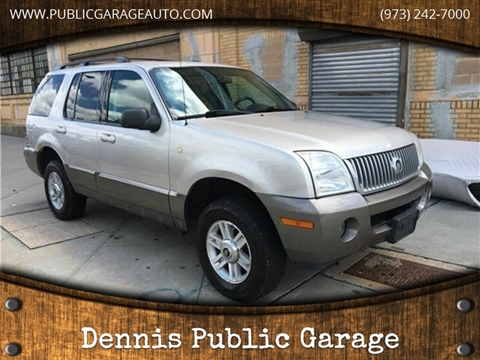2004 Mercury Mountaineer for sale at Dennis Public Garage in Newark NJ