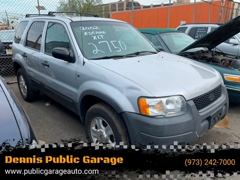 2002 Ford Escape for sale at Dennis Public Garage in Newark NJ