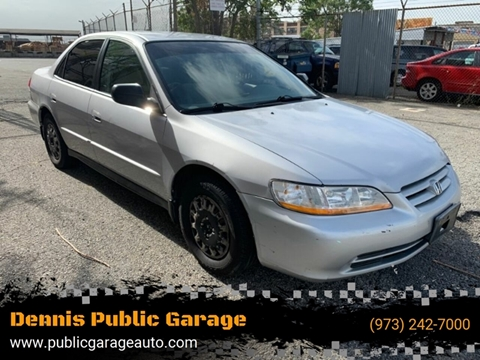 2001 Honda Accord for sale at Dennis Public Garage in Newark NJ