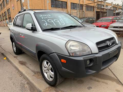 2008 Hyundai Tucson for sale at Dennis Public Garage in Newark NJ