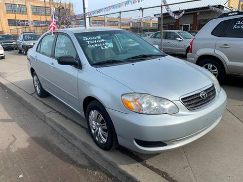 2008 Toyota Corolla LE for sale at Dennis Public Garage in Newark NJ