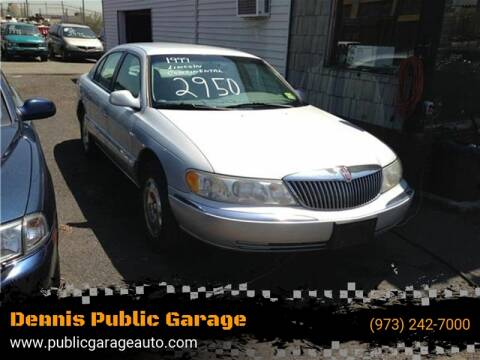 1999 Lincoln Continental for sale at Dennis Public Garage in Newark NJ