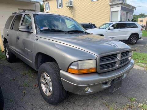2001 Dodge Durango for sale at Dennis Public Garage in Newark NJ