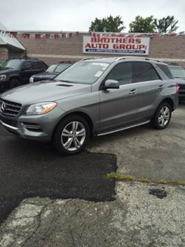 2013 Mercedes-Benz M-Class for sale at Brothers Auto Group in Youngstown OH