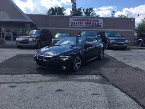 2008 BMW 6 Series for sale at Brothers Auto Group in Youngstown OH