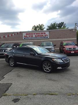2008 Lexus LS 460 for sale at Brothers Auto Group in Youngstown OH
