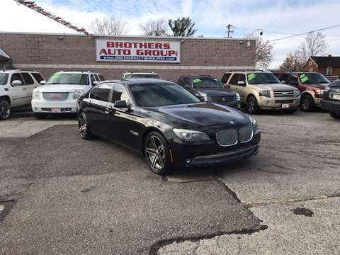 2010 BMW 7 Series for sale at Brothers Auto Group in Youngstown OH