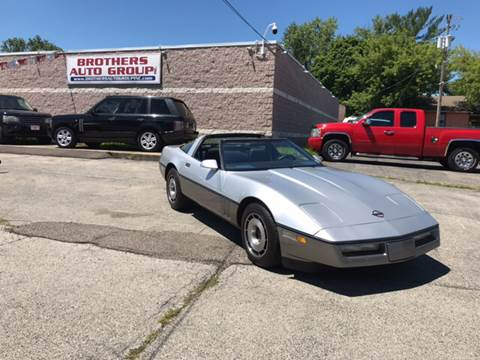 1985 Chevrolet Corvette for sale at Brothers Auto Group in Youngstown OH