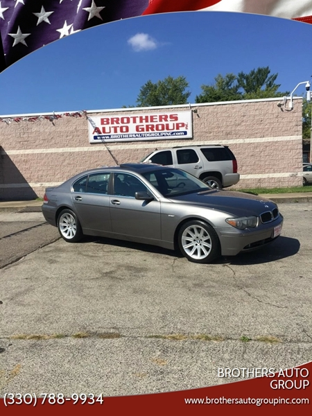 2004 Bmw 7 Series 745i 4dr Sedan In Youngstown Oh