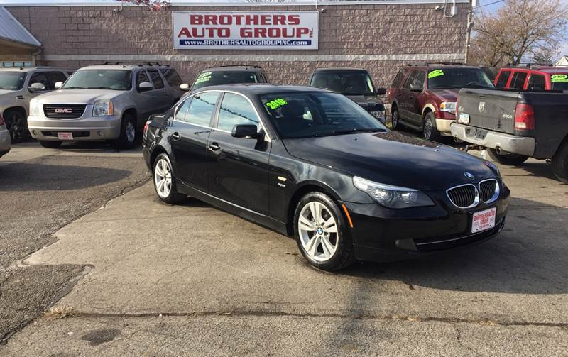 2010 Bmw 5 Series Awd 528i Xdrive 4dr Sedan In Youngstown