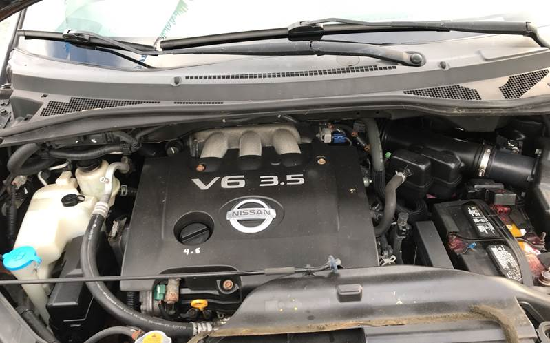 2007 Nissan Quest Engine