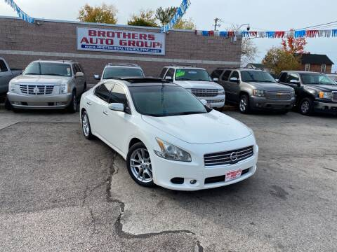 2011 Nissan Maxima for sale at Brothers Auto Group in Youngstown OH