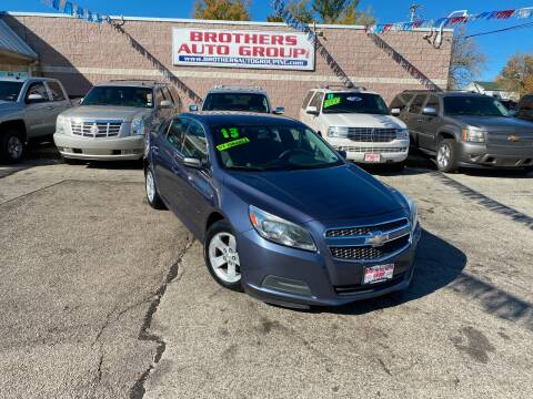 2013 Chevrolet Malibu for sale at Brothers Auto Group in Youngstown OH