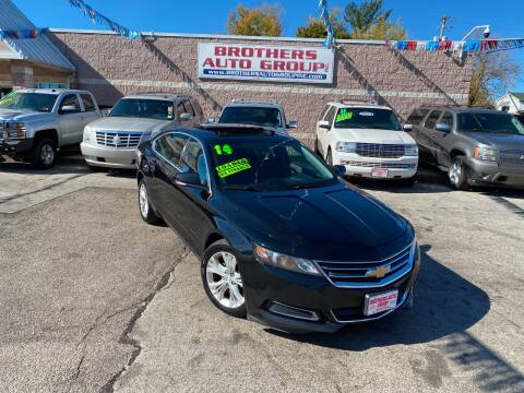 2014 Chevrolet Impala for sale at Brothers Auto Group in Youngstown OH
