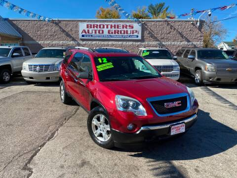 2012 GMC Acadia for sale at Brothers Auto Group in Youngstown OH