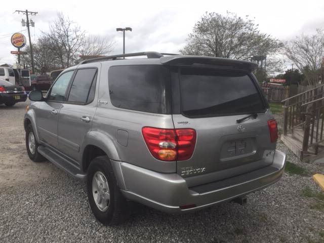 2002 Toyota Sequoia Limited 2WD 4dr SUV - New Iberia LA