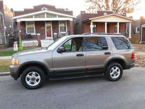 2003 Ford Explorer for sale at ALL Auto Sales Inc in Saint Louis MO