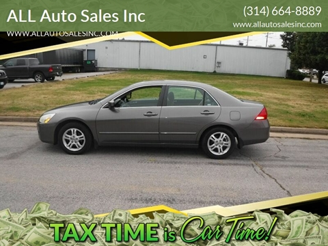 2006 Honda Accord EX for sale at ALL Auto Sales Inc in Saint Louis MO