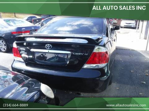 2005 Toyota Camry Standard for sale at ALL Auto Sales Inc in Saint Louis MO
