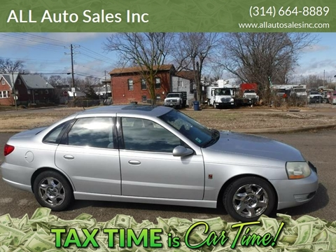 2005 Saturn L300 for sale at ALL Auto Sales Inc in Saint Louis MO