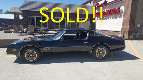 1976 Pontiac Trans Am for sale in Annandale, MN