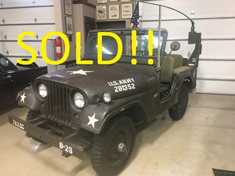 1955 Jeep CJ-5 for sale in Annandale, MN