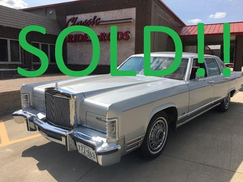 1979 Lincoln Continental for sale in Annandale, MN