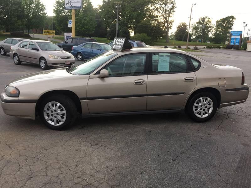 2003 Chevrolet Impala 4dr Sedan - Denver NC