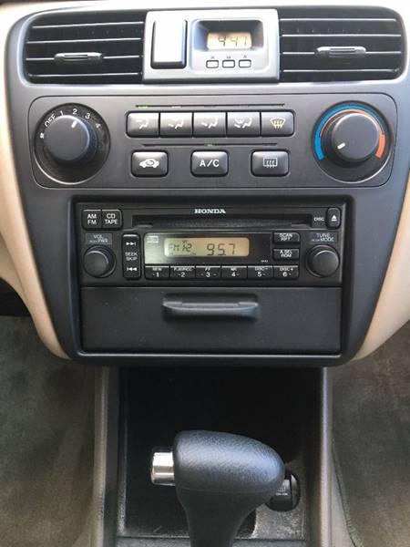 2002 Honda Accord LX 4dr Sedan - Denver NC