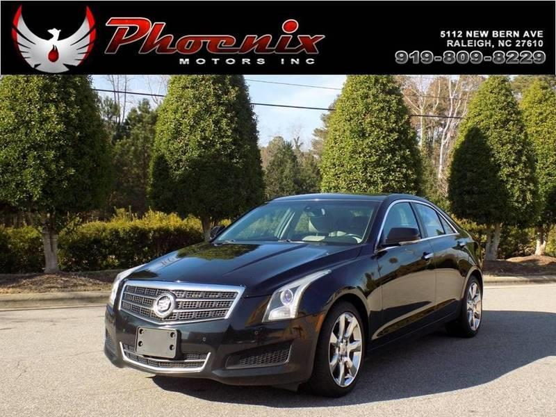 Cadillac Ats L Luxury Dr Sedan In Raleigh NC Phoenix - Cadillac dealer raleigh nc