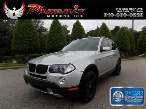 2008 BMW X3 for sale in Raleigh, NC