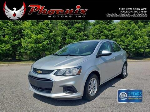 2017 Chevrolet Sonic for sale in Raleigh, NC