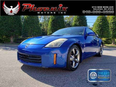 2006 Nissan 350Z Coupe >> 2006 Nissan 350z For Sale In Raleigh Nc