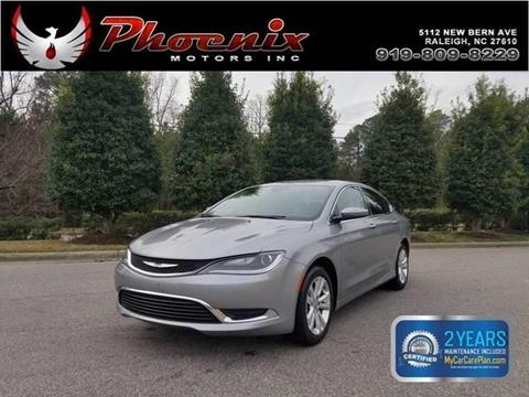 2017 Chrysler 200 for sale in Raleigh, NC