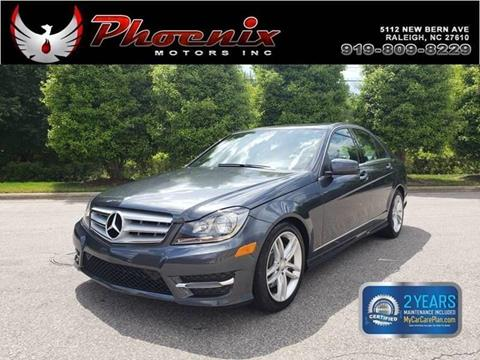 2013 Mercedes-Benz C-Class for sale in Raleigh, NC