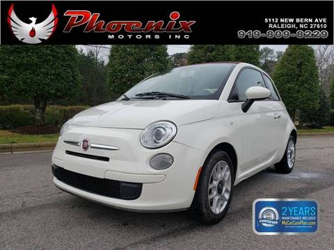 2013 FIAT 500c for sale in Raleigh, NC