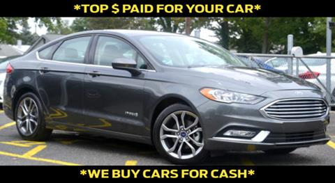 2017 Ford Fusion Hybrid for sale in Linden, NJ