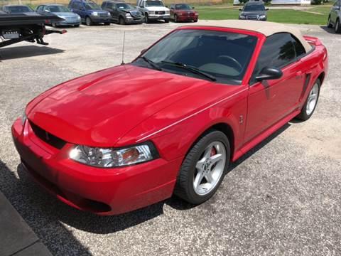 1999 Ford Mustang Svt Cobra For Sale Carsforsale
