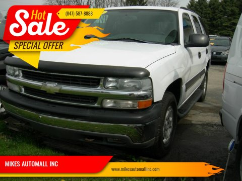 2004 Chevrolet Tahoe for sale at MIKES AUTOMALL INC in Ingleside IL